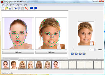 Create funny face animations. Morph them ALL!